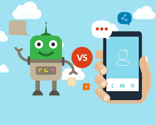 Why can chatbots replace Mobile Apps immediately